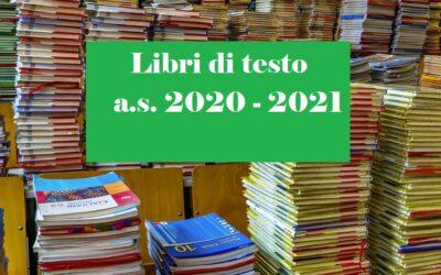 Libri di testo a.s. 2020-2021