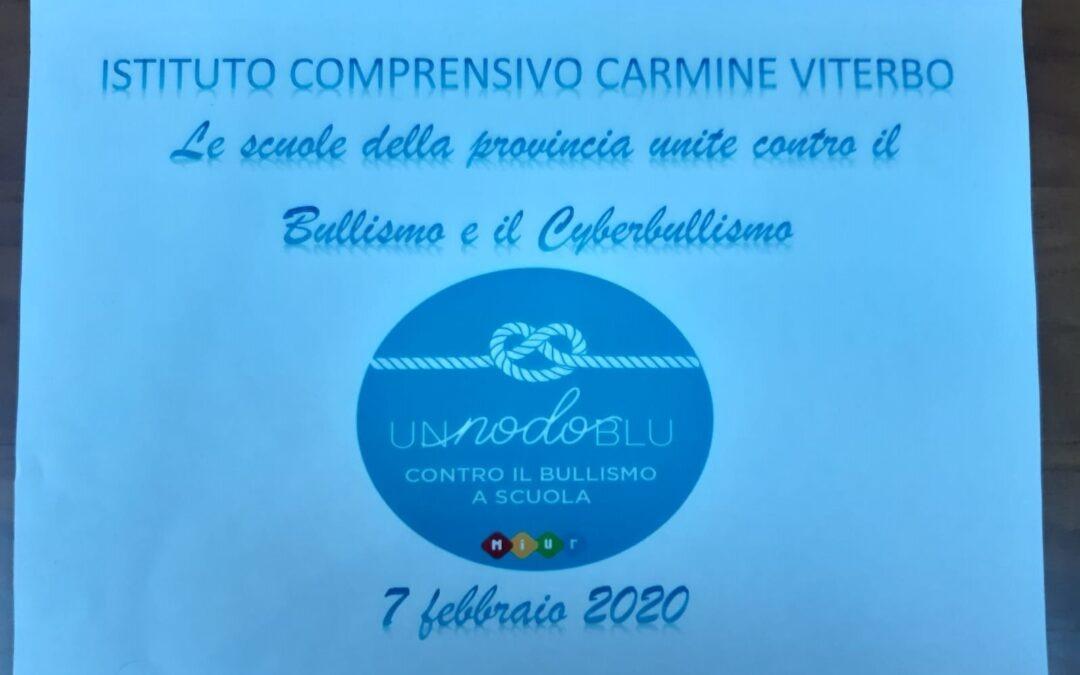 """""""UN NODO BLU CONTRO IL BULLISMO"""" – 7 febbraio 2020"""