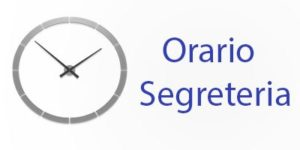 Sospensione delle attività didattiche: avviso orario di segreteria
