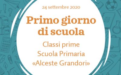 """Accoglienza classi prime """"Alceste Grandori"""""""